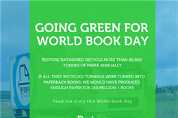World Book Day: Recycling matters