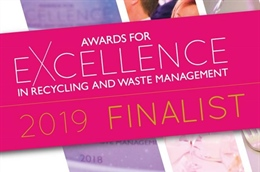 We are Shortlisted for paper Recycling Business of the Year!