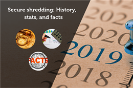 Secure shredding: History, stats, and facts