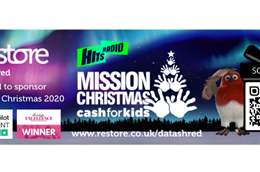Restore Datashred is proud to sponsor Mission Christmas!