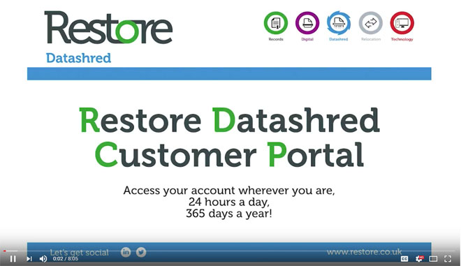 Customer Portal Video