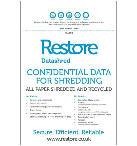 Restore shredding