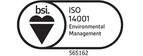 ISO140011 Accredited