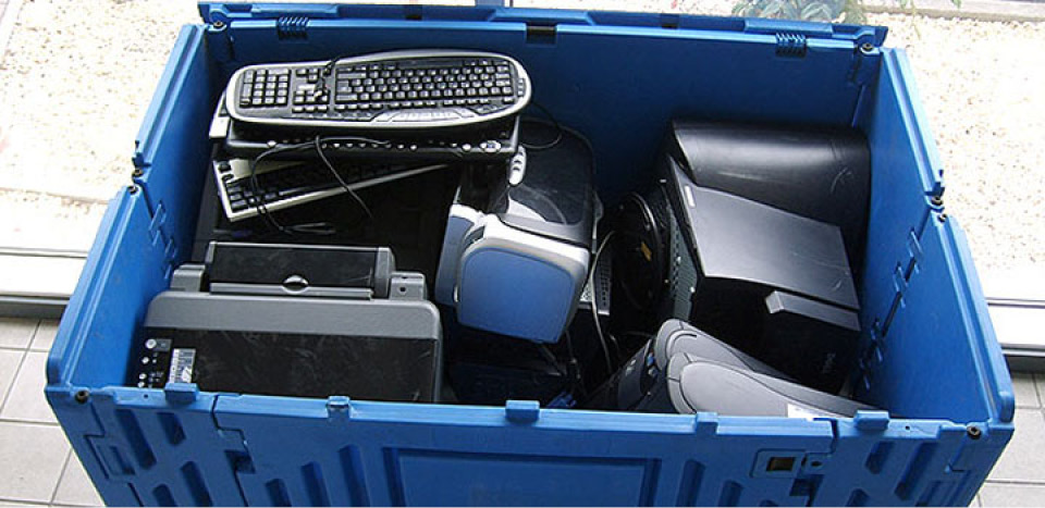 recycling solutions for telecomms company