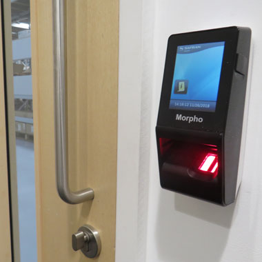 biometrics in use at Restore Technology