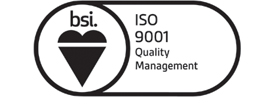 ISO 9001 Quality Management logo