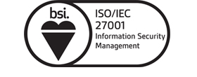 ISO/IEC 27001 Information Security Management logo
