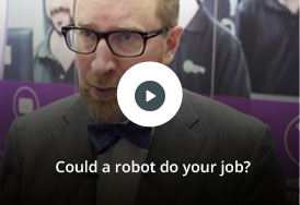 Could a robot do your job? Watch this short video shot at AIIM 2017 to learn more about the impact of digital transformation in todays  business.