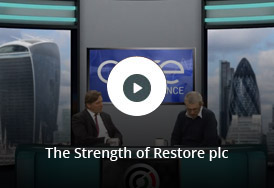 Charles Skinner, CEO, discusses the strength of Restore plc, experts in Document Storage