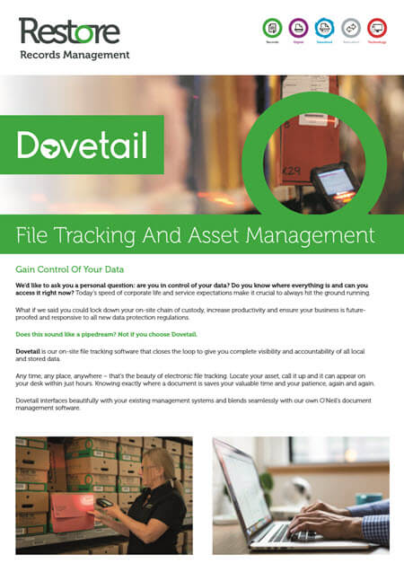 Dovetail File Tracking